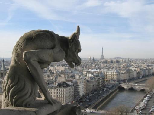 A Gargoyles view of Paris